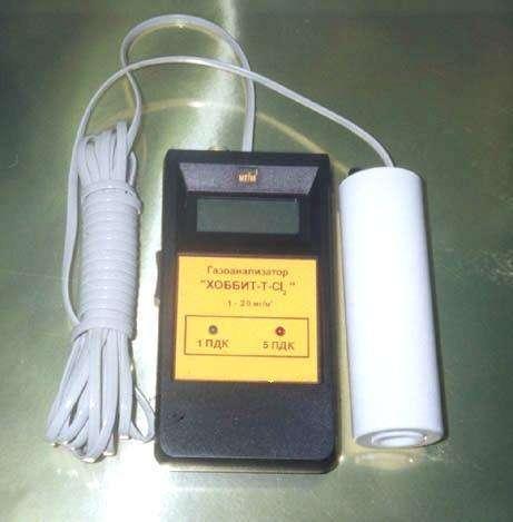 Газоанализатор «Хоббит-Т-CL2»