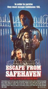 Побег из Сейфхевена / Кровавый побег / Escape from Safehaven / Bloodscape (1989)