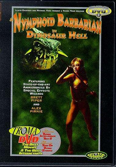Дикарка-нимфоманка в плену у динозавров / Nymphoid Barbarian in Dinosaur Hell