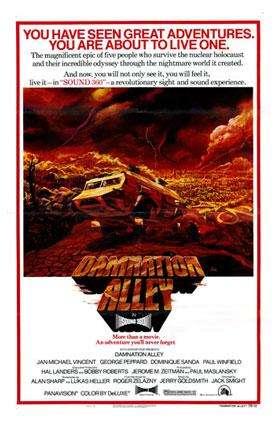 Долина проклятий / Damnation Alley (1977)