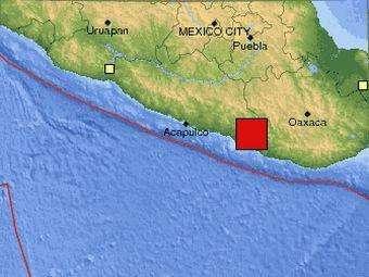 Мексика: В районе Акапулько произошло мощное землетрясение