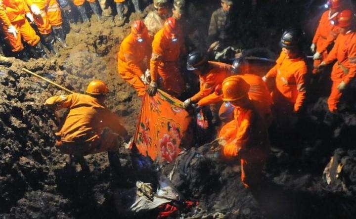 Kitaj opolzen pogibli 42 cheloveka (2)