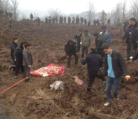 Kitaj opolzen pogibli 42 cheloveka (20)