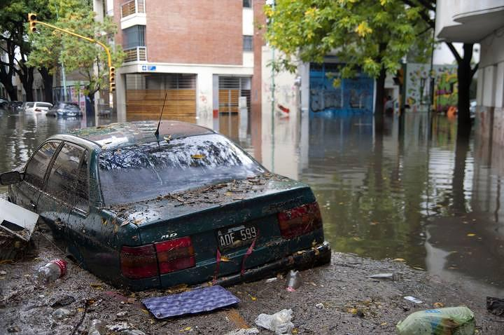 ARGENTINA-RAIN-FLOOD
