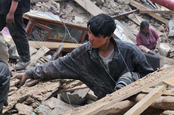 CHINA-DISASTER-QUAKE