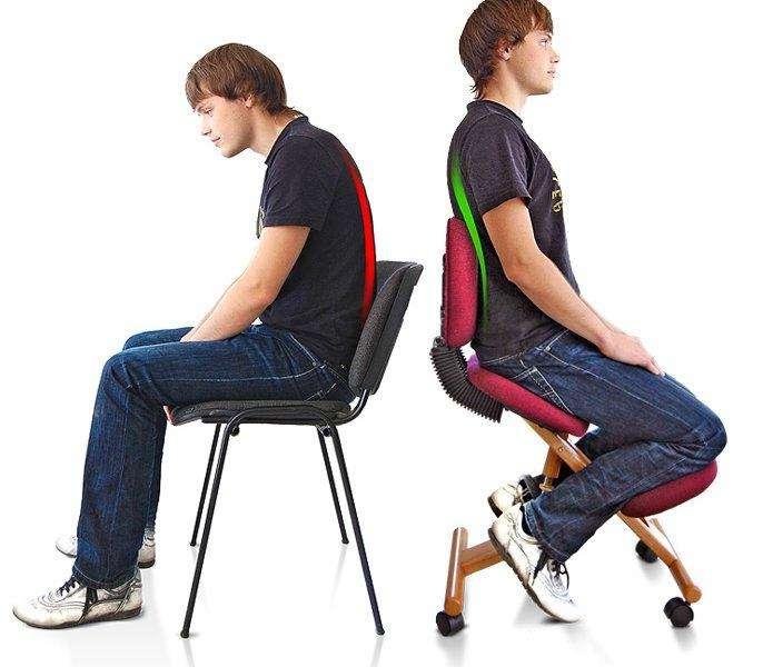 Нарушение осанки при сидячих профессиях