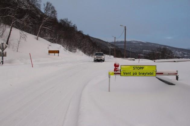 Letnij snegopad v Norvegii (1)