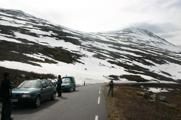 Letnij snegopad v Norvegii (3)