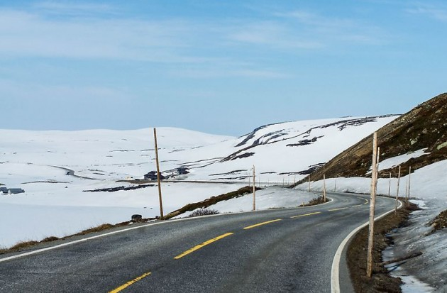 Letnij snegopad v Norvegii (5)