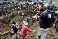 В Колумбии ищут пострадавших от оползня